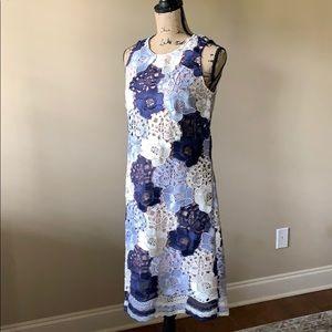✨NWT✨Joseph Ribkoff Embroidered Sleevless Dress